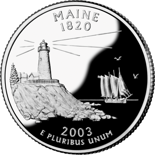 2003 Maine State Quarter