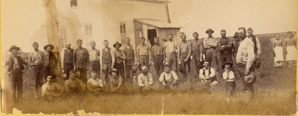 Dalrymple Farm employees ca. 1870