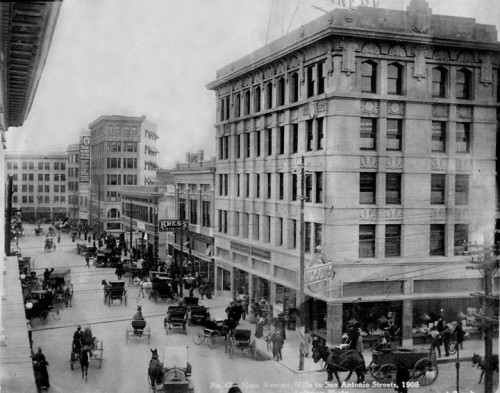 Downtown El Paso, 1908