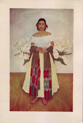 "Portrait of Enriqueta ""Quetita"" Dávila (1927-) by Diego Rivera"