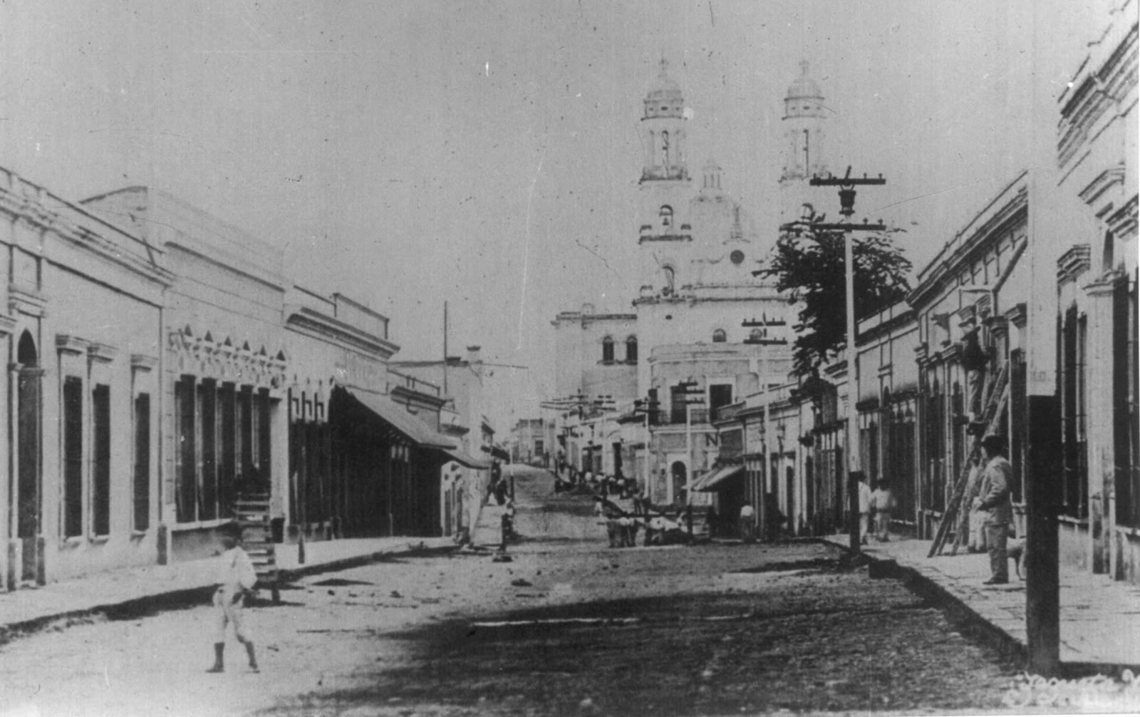 Undated Photo of Culiacán, probably 19th Century