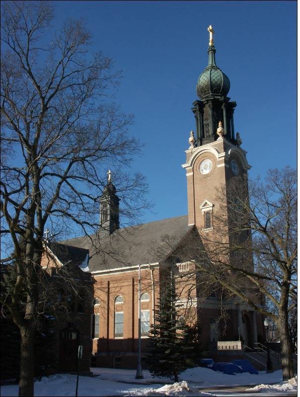 Third Church of St. Peter, Delano, Wright, Minnesota