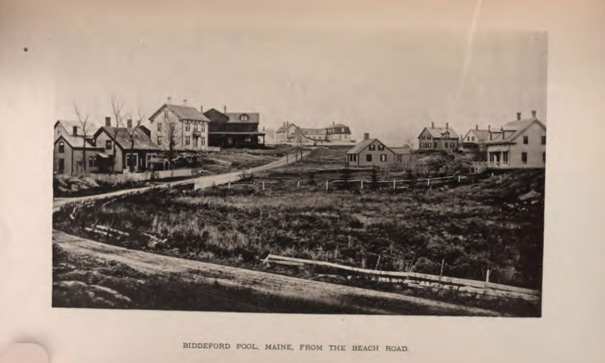 Biddeford Pool ca. 1887, from a book by John W. Smith, Gleanings from the Sea