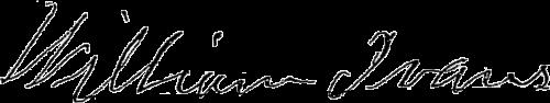 William Ivans signature from pension application