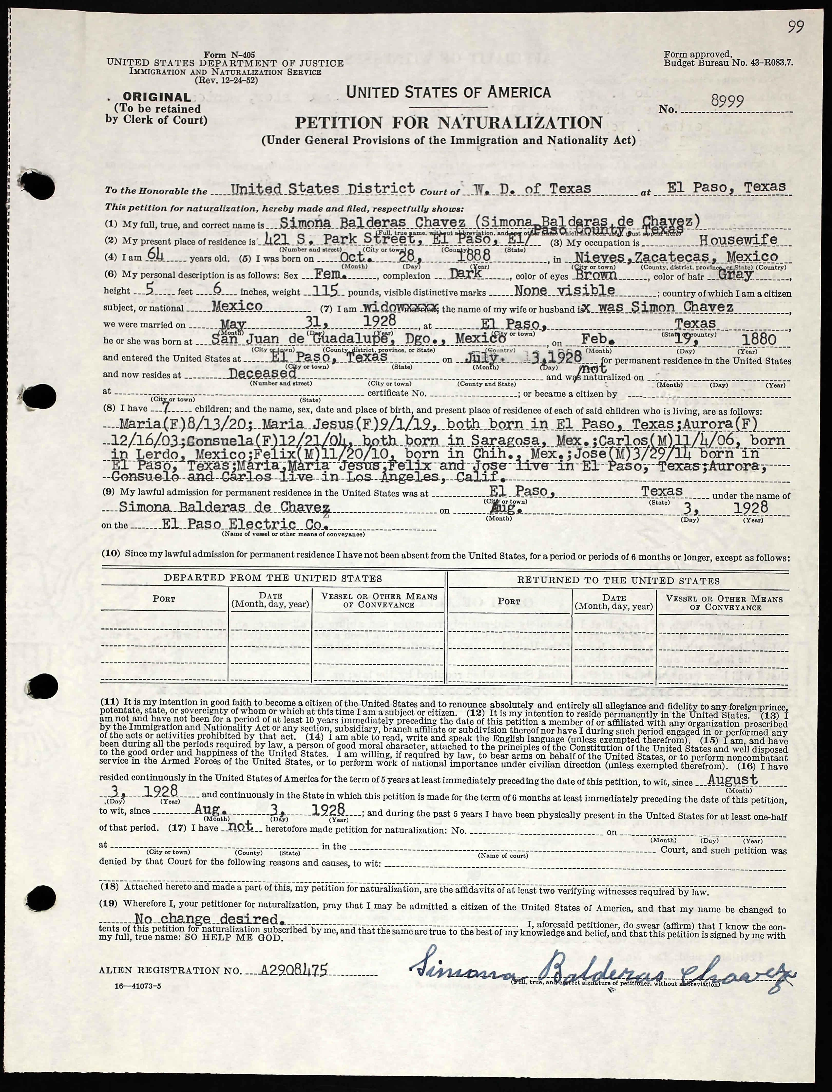 Bonito Birth Certificate El Paso Foto - Certificado Actas de ...